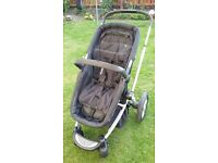 3 in 1 pushchair travel system -Mothercare