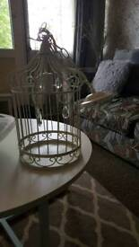 Birdcage shabby chic light fittings