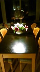 Dining Table seating 6-8
