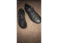 Black adidas gazelle
