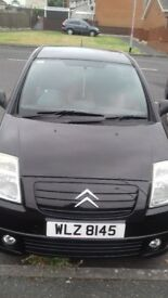 Citroën fusion c2.1.4diesel. Mot to November. Cheap tax and insurance.