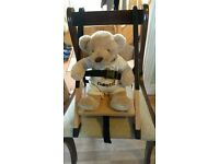 New portable wooden high chairs-ideal for holidays, travel high chair £12 ono