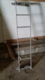 Rear door ladder off sprinter