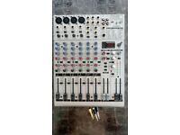 Behringer Eurorack UB1204FX-PRO Mixing Desk with accesories