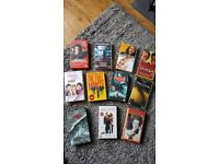VHS films for sale as job lot or can split