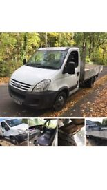 2007 {57} iveco 35c12 mwb dropside mot uprated springs 118000 miles