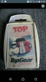 Top Trumps Top Gear Cool Cars card game