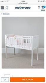 Mothercare crib and mattress