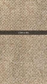 Brand new carpet roll end 2.8m x 4m