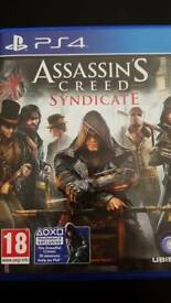 Assassin`s creed Syndicate Ps4