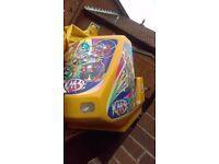 Fairground kiddy coaster arcade machine kids gardens seat