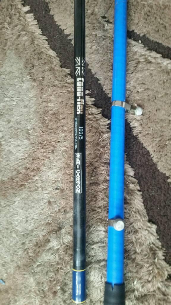 Conoflex beach rod