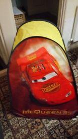Disney cars play tent