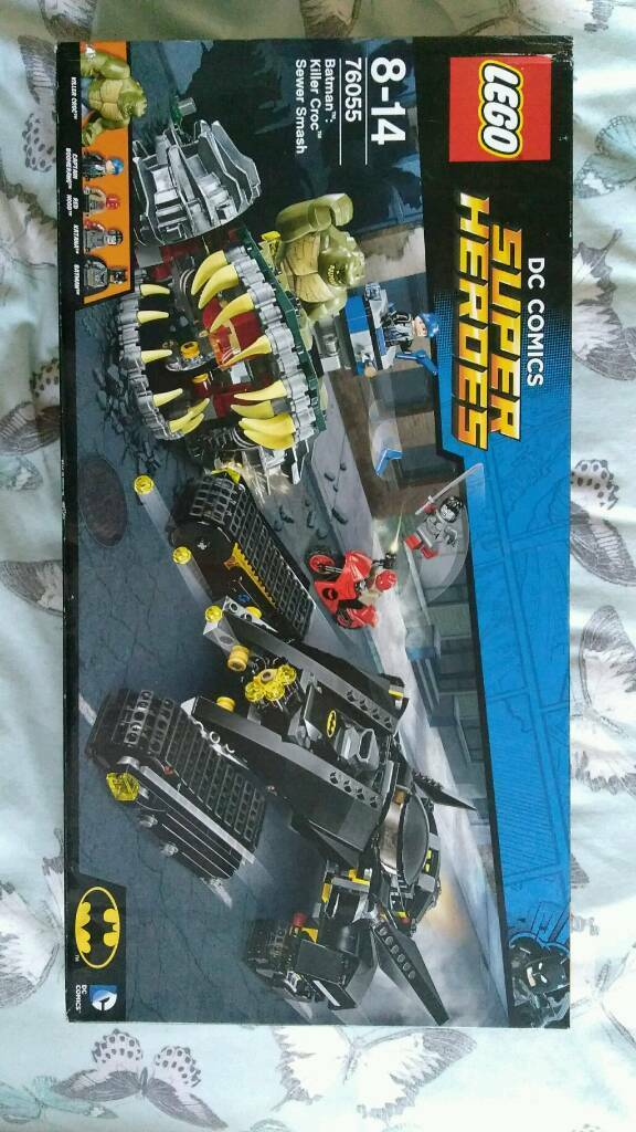 Brand new Lego dc comics 76055