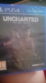 Uncharted ps4 unopened