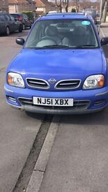 Nissan micra for spares and parts