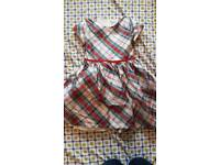 Girls m and s dress