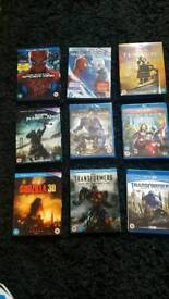 3D BLURAY DVDs FOR SALE X 28