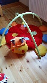 Mamas and Papas Lottie Ladybird soft playmat
