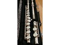 Yamaha 225SII Silver Flute - Excellent condition