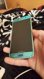 Rare blue Samsung s6 for sale