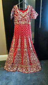 brand new bridal lengha dress