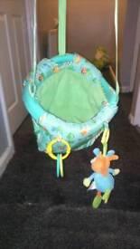 Baby door swing