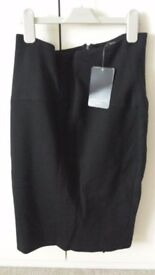 Zara black pencil skirt size L: *Brand new*