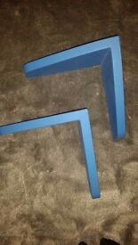 Ikea blue mammut shelfs