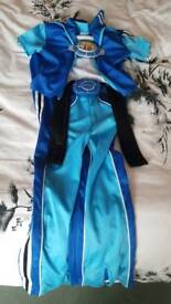 Lazytown dress up costume age 5 - 6 years