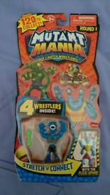 Mutant Mania Wrestlers 4 pack