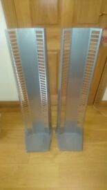 Pair of matching DVD racks