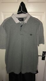 Fred Perry Textured Men's Polo Shirt