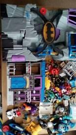 Large batman and other characters imaginex bundle