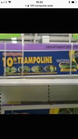 Brand new in box 10ft Trampoline with enclosure