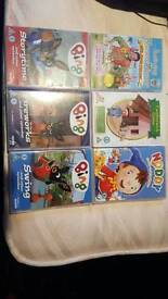 Bundle of preschool DVD's