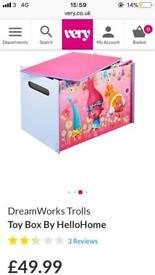 2x trolls toy box