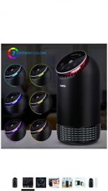PARTU Air Purifier with True HEAP & Activated Carbon Filter for Allergies, 25dB Low-noise