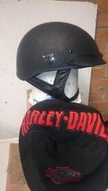 Harley half helmet