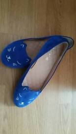 lovely girls cats shoes size 3