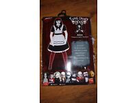 "** Halloween ** ladie ""living dead doll"" costume, size small (8-10) excellent condition!"