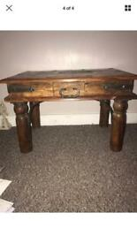 Medium Wooden Table / Coffee Table