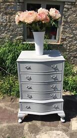 Painted French antique style drawers