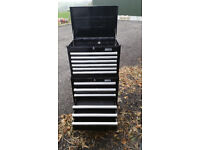 Halfords Industrial 12 Drawer Ball Bearing Tool Chest/Tool Box/Roll Cab