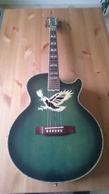 Acoustic Guitar w/ Gator Hard Case