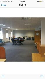 FLEXIBLE OFFICE SPACE FULLY FITTED 50 plus person £700 per week