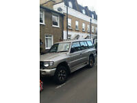 Mitsubishi Shogun for sale AUTO MOT Black Leather Interior