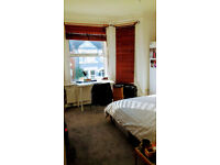 Bright double room for a short term let