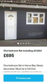 ONE BED FLAT