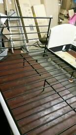 New kingsize metal bed frame
